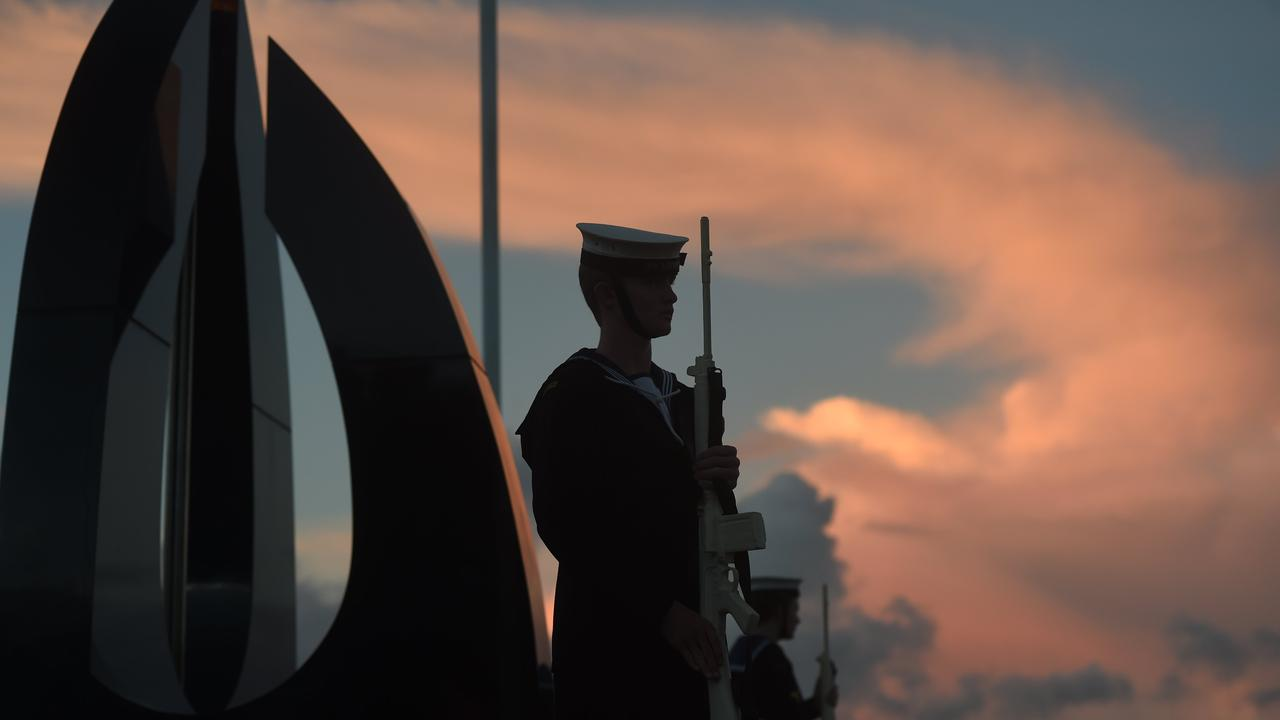 Dawn Service in Ballina on Anzac Day. There won't be Dawn Services across the country amid coronavirus restrictions, but you can join a virtual Anzac Day parade.