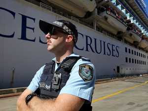 Police to survey local Ruby Princess passengers