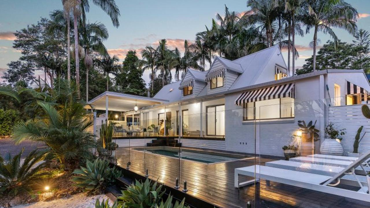 The Byron Bay property attracted more than 120,000 views in four days.