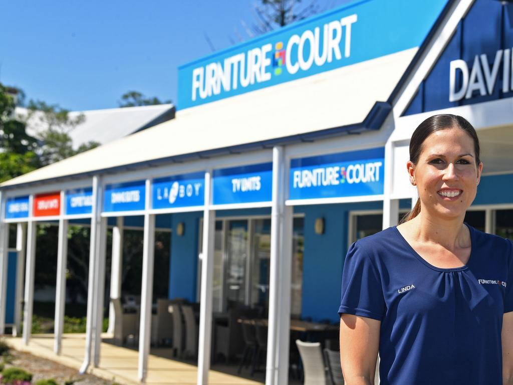 Linda Tunstall of Davies Furniture Court
