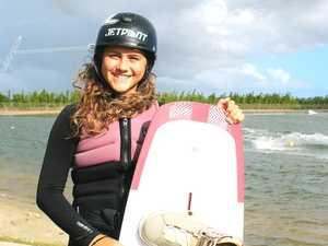 Teen hunts big wakeboarding future