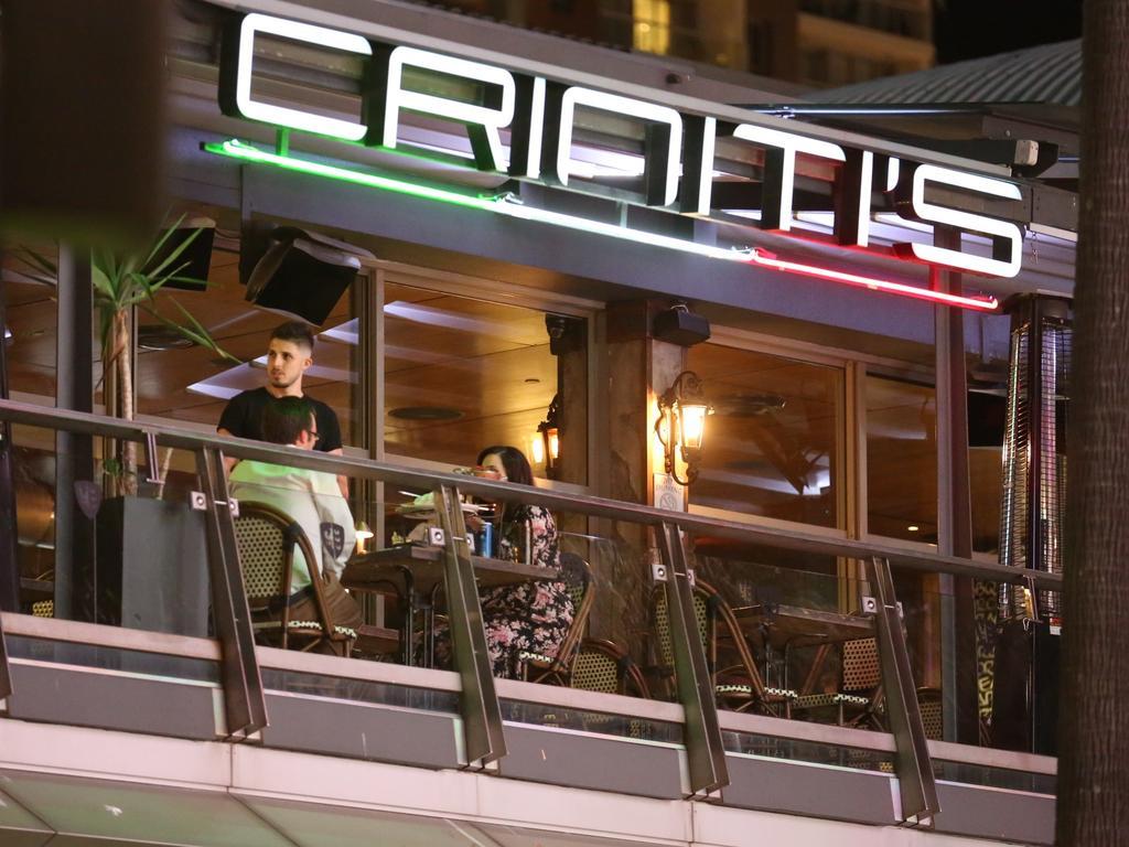 The Criniti's restaurants at Darling Harbour's Harbourside. Picture: Steve Tyson