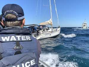 'Tonne of ice' allegedly found inside yacht off NSW coast