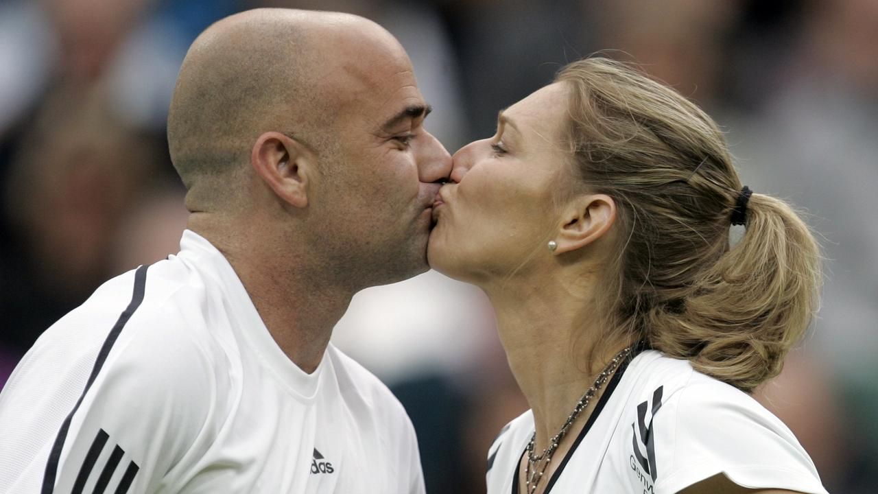 The No. 1 sporting power couple needs no introduction. Picture: AP Photo/Alastair Grant