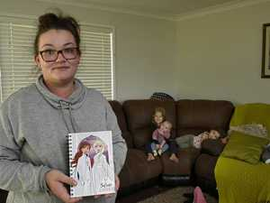 Woman's x-rated discovery in child's Frozen diary