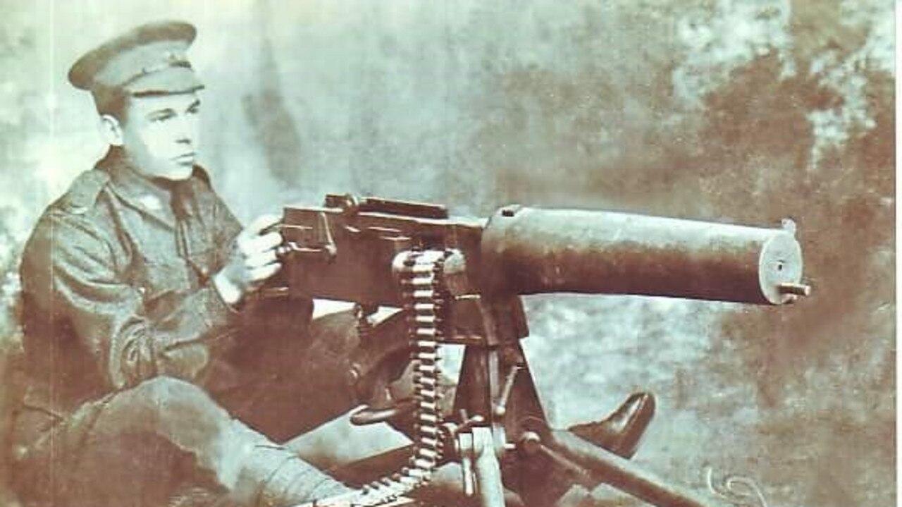 Arthur Perfect in World War I 1917