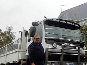 Third generation driver 'rapt' with trucking