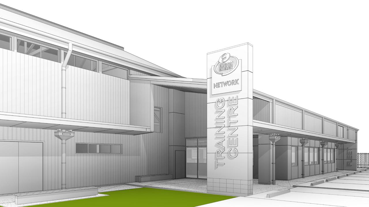 Artist impressions of a $42 million upgrade project for Ergon Energy's inner-city facilities in Cairns. PICTURE: SUPPLIED