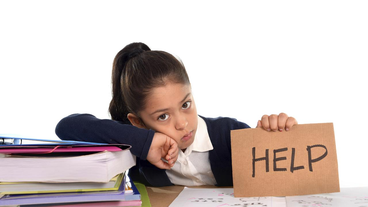 Students frustrated with their homework Source: iStock / Getty Images