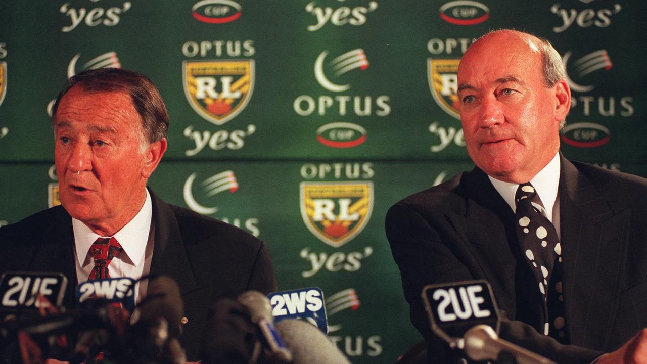 Ken Arthurson and John Quayle.