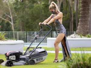 'Covid chores' inspire eye-catching photo shoot