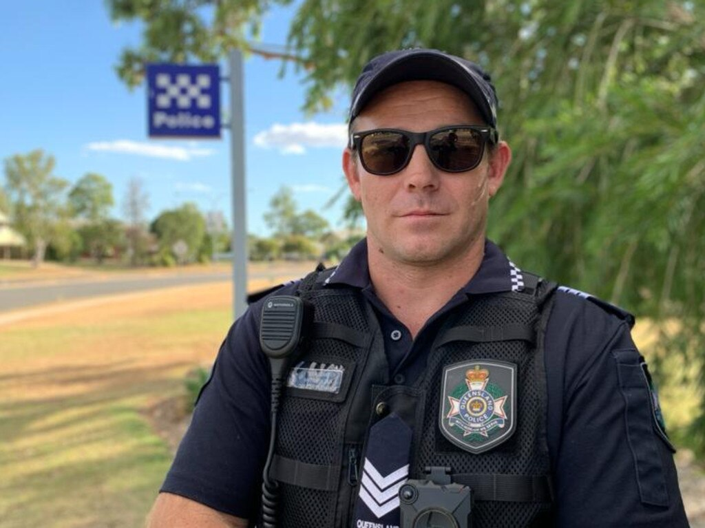 Officer in Charge of Blackwater Police Station, Sergeant Matthew Dux.
