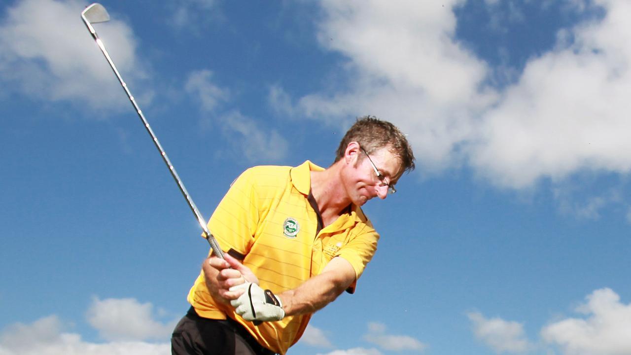 Cairns golf coach Graham Bolton. Pic Tom Lee