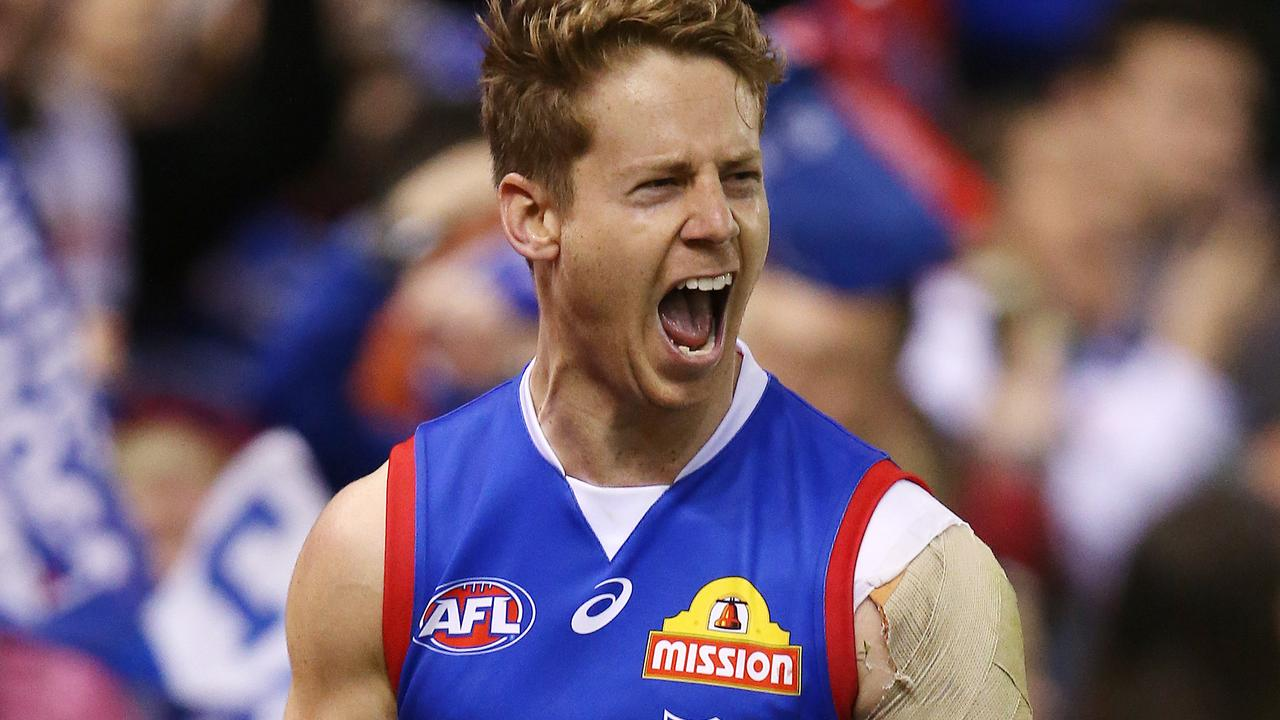 Lachie Hunter will set down as vice-captain of the Western Bulldogs.