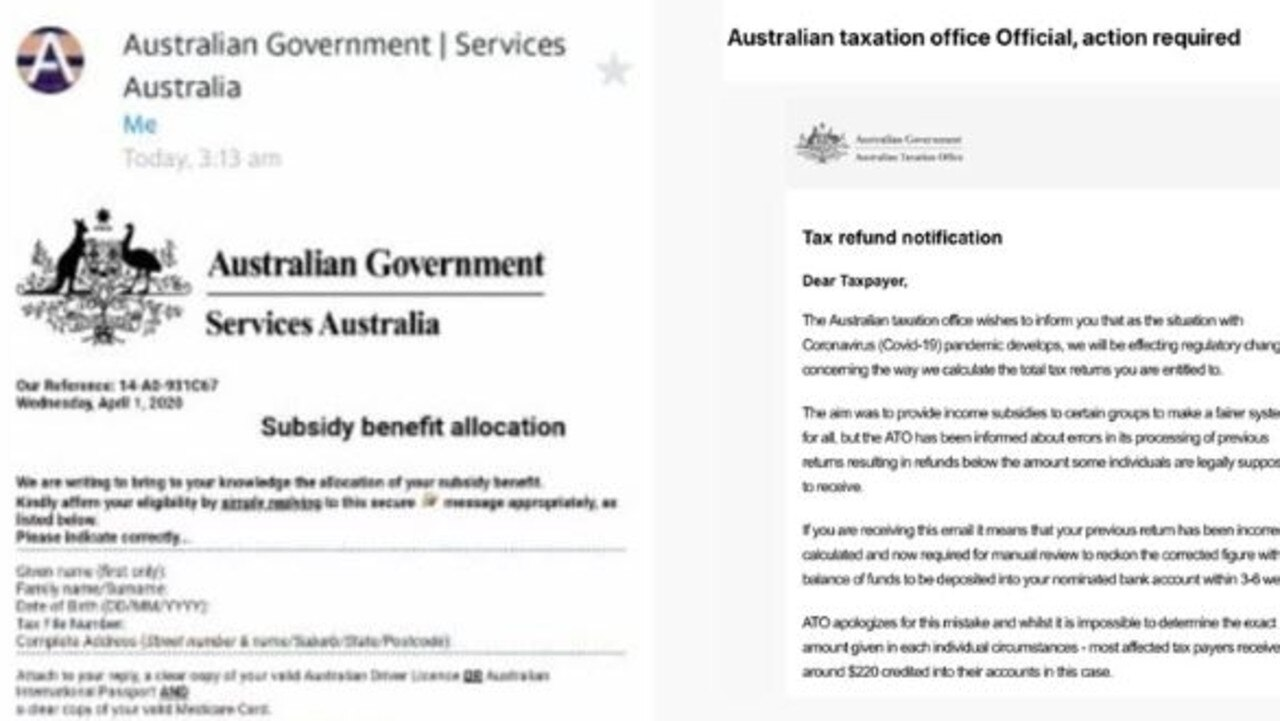 Scammers are targeting Aussies during the COVID-19 crisis.
