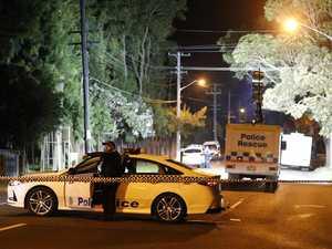 Man armed with meat tenderiser shot dead