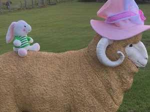 Thieves destroy beloved Seaforth mascot