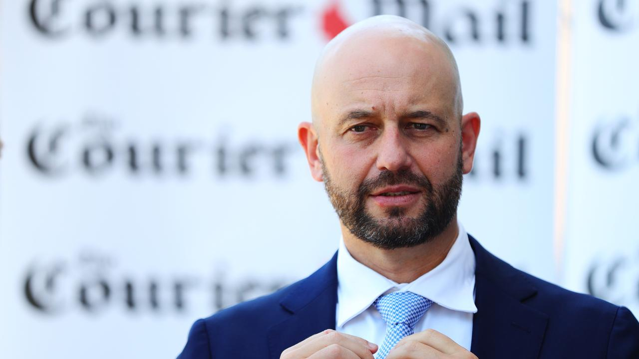 Todd Greenberg was a driving force behind the NRL's Magic Round at Suncorp Stadium. Picture: Lachie Millard