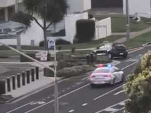 Person remains at large after Mooloolaba police pursuit
