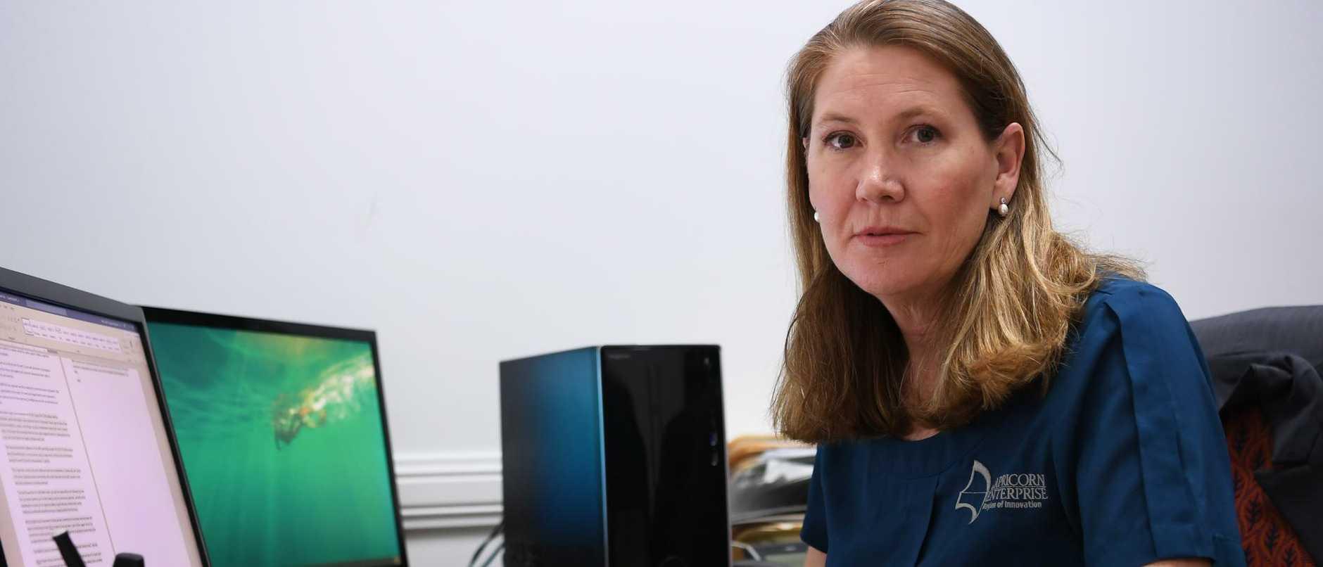 Capricorn Enterprise CEO Mary Carroll.