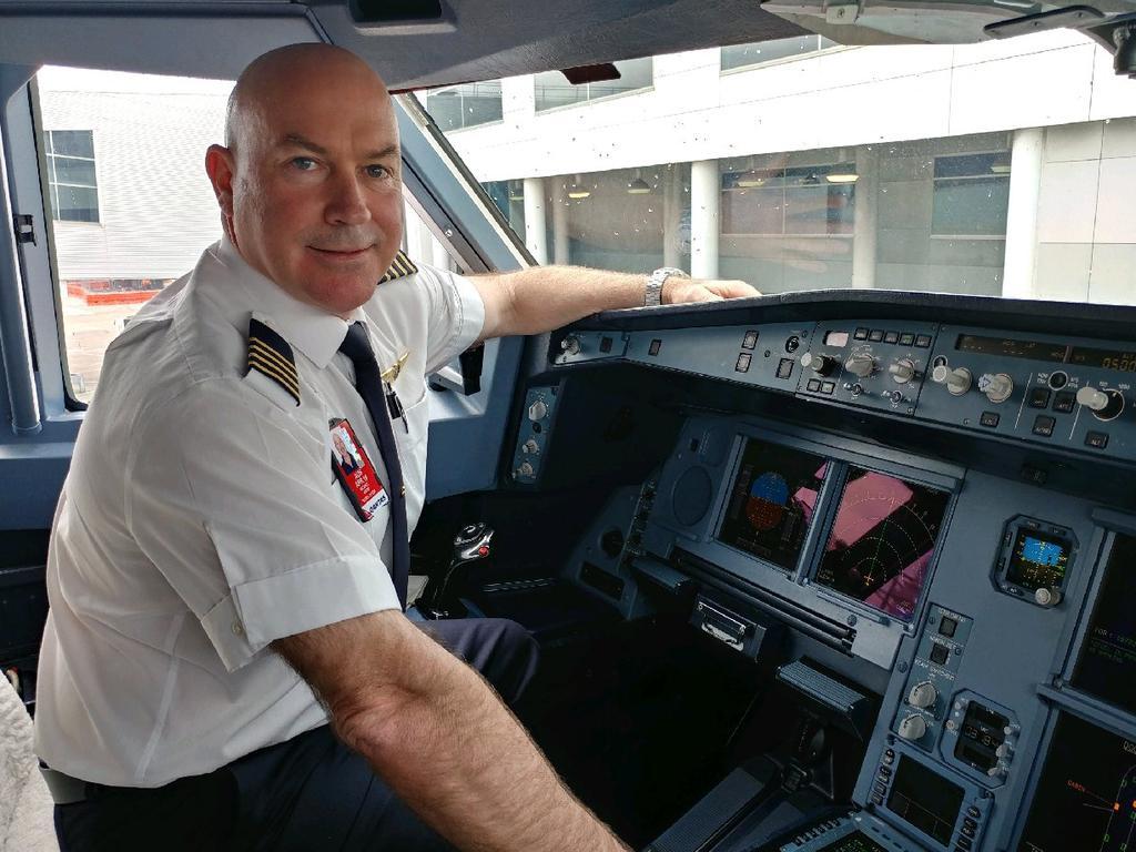 Hobart sailor Michael Crew is a Qantas pilot and a Sydney to Hobart yacht race skipper.