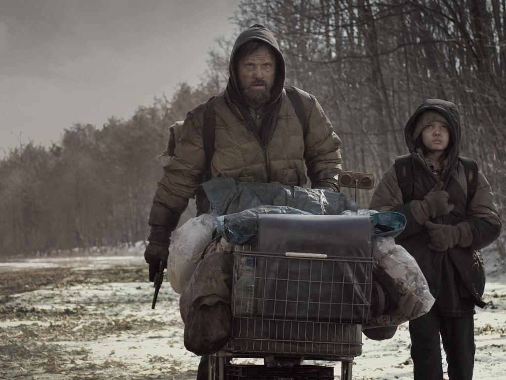 Viggo Mortensen and Kodi Smit-McPhee are living a dystopian hell in The Road. Sound familiar? Picture: Supplied