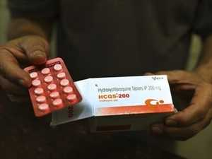 Malaria drug no help for COVID-19: studies
