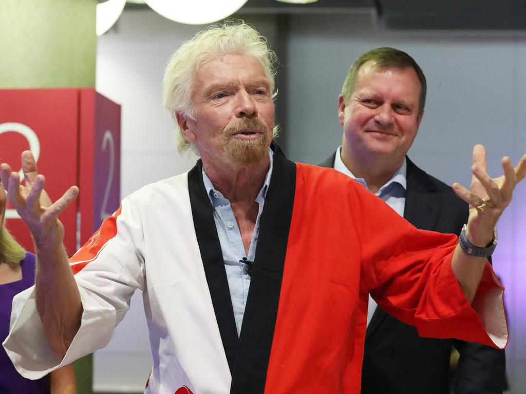 Sir Richard Branson has hit out at the Australian government. Picture: Liam Kidston.