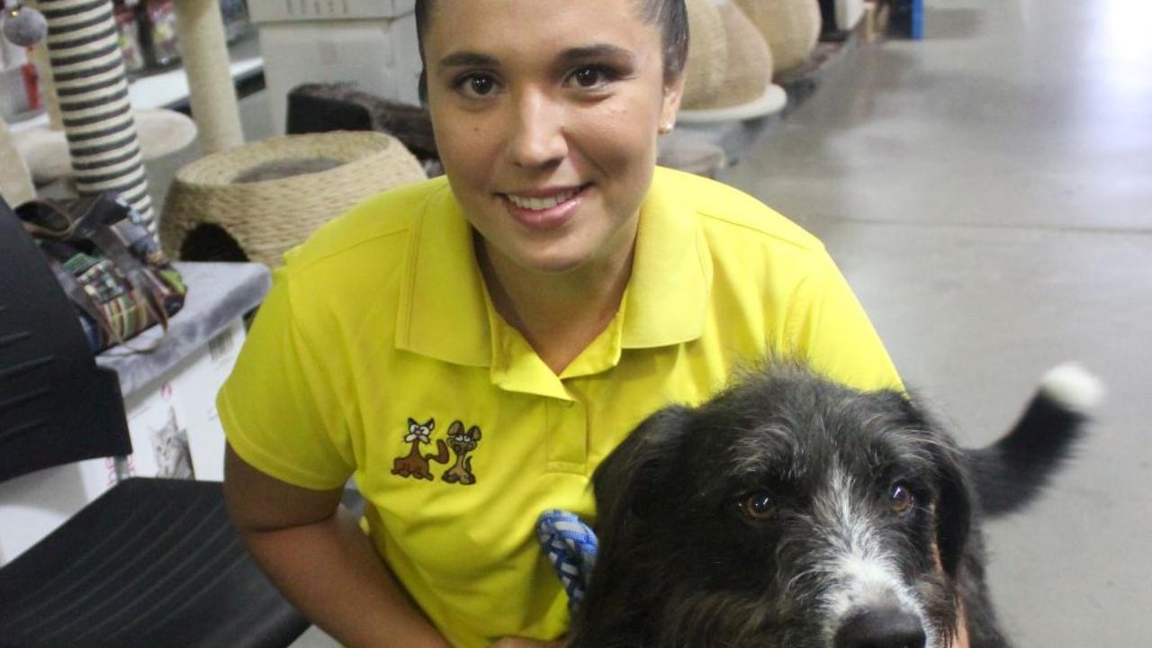 Capricorn Animal Aid volunteer Kirsten Vella.