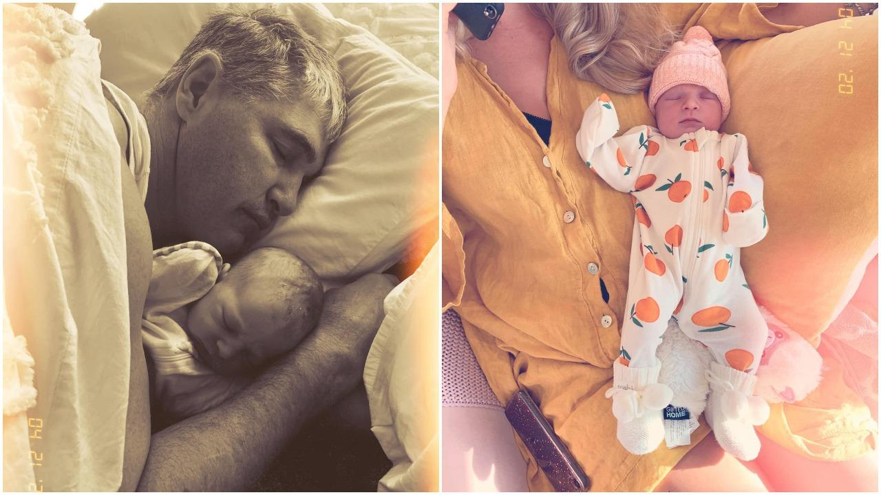 Robbie and Daisy Katter have welcomed their first child, a daughter.