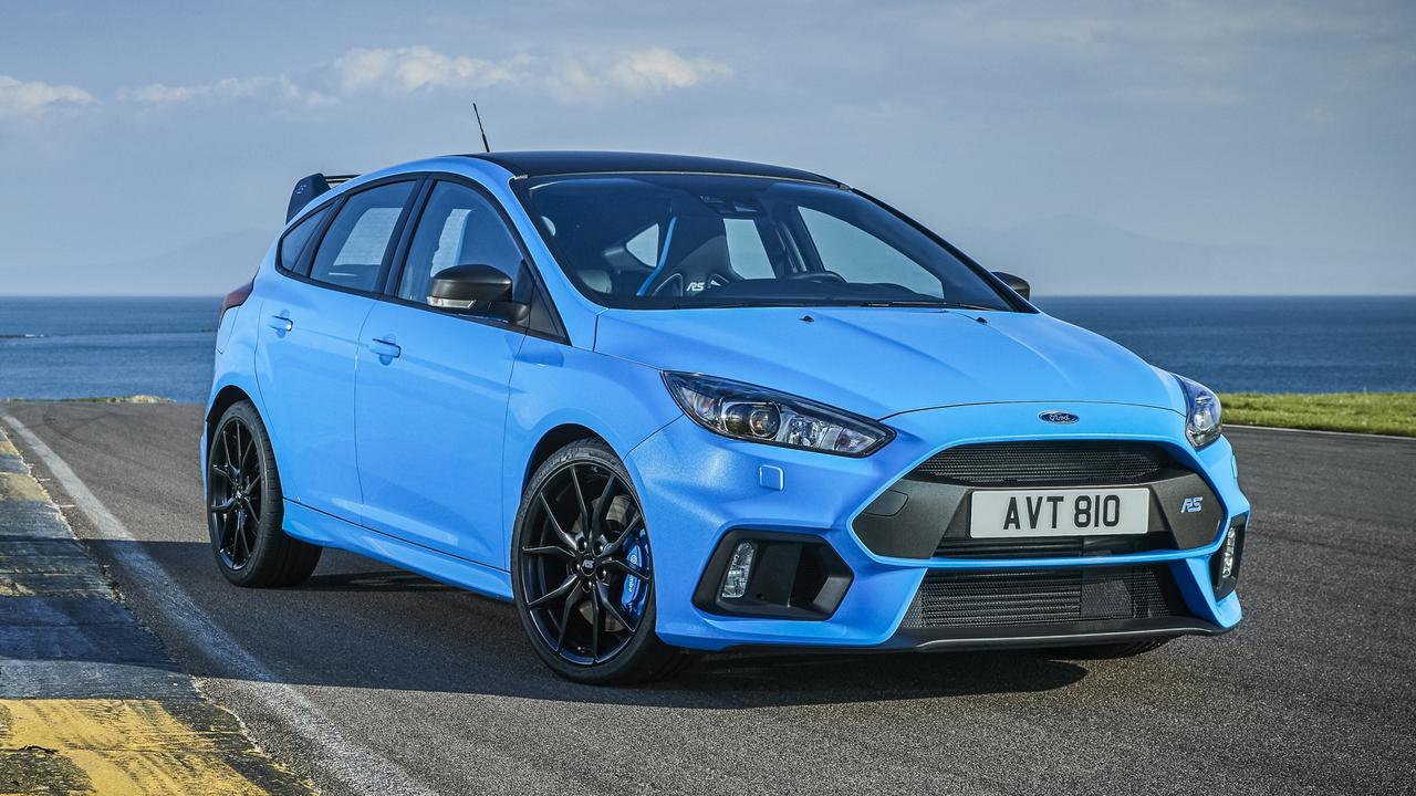 The Ford Focus RS Limited Edition.