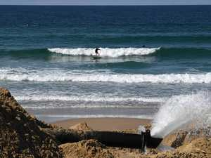 Pumping contract for popular beaches up for grabs