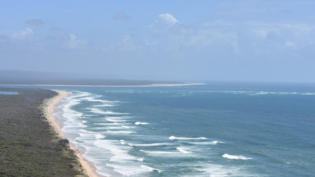 Inskip Point is a popular domestic tourism spot in the region.