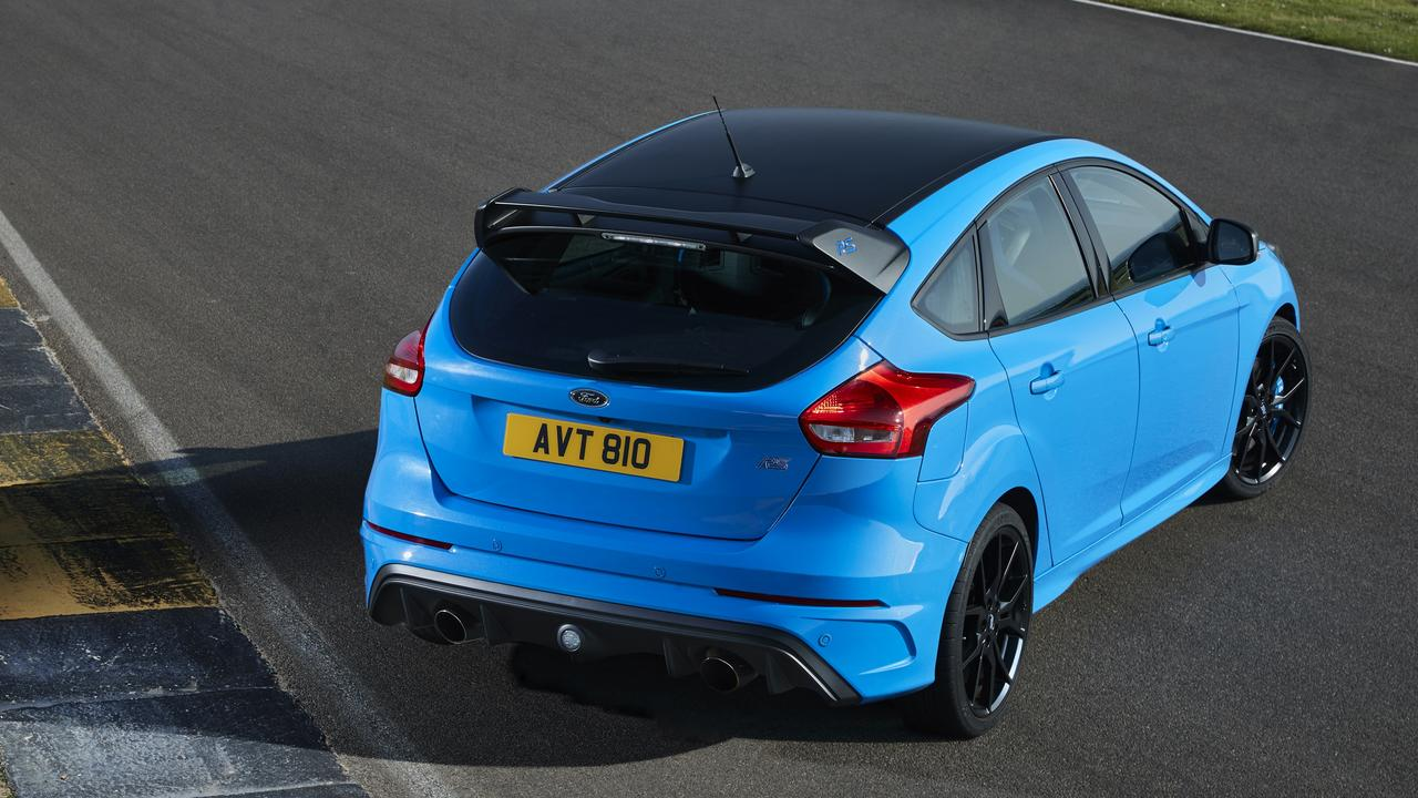 The Ford Focus RS was one of the few relatively affordable all wheel drive hot hatches.