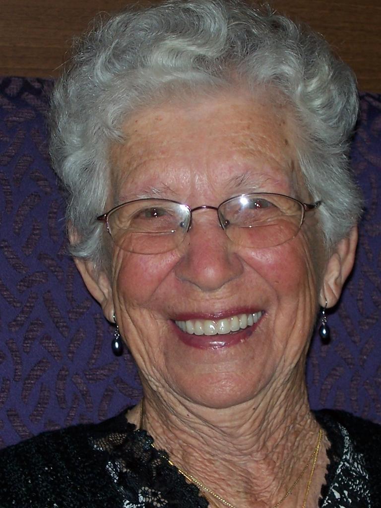 Yvonne Chard celebrates her 90th birthday on Wednesday.