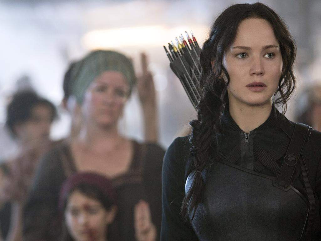 The Hunger Games made Jennifer Lawrence a movie star. Picture: AP
