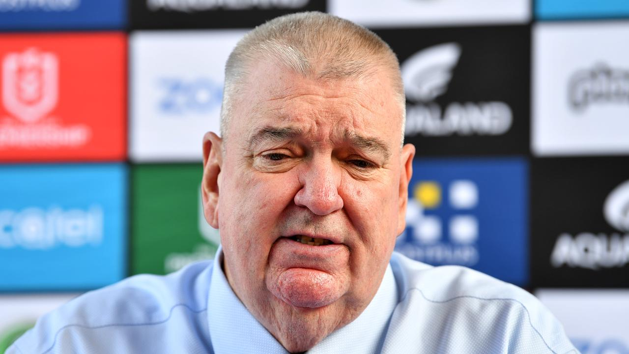 Richardson has been CEO of three different clubs. Digital image by Gregg Porteous/NRL Photos.