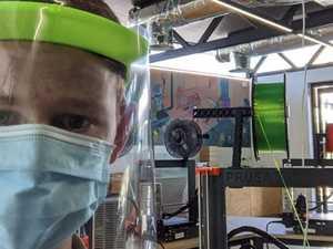 Hi-tech teenagers leading viral protection response