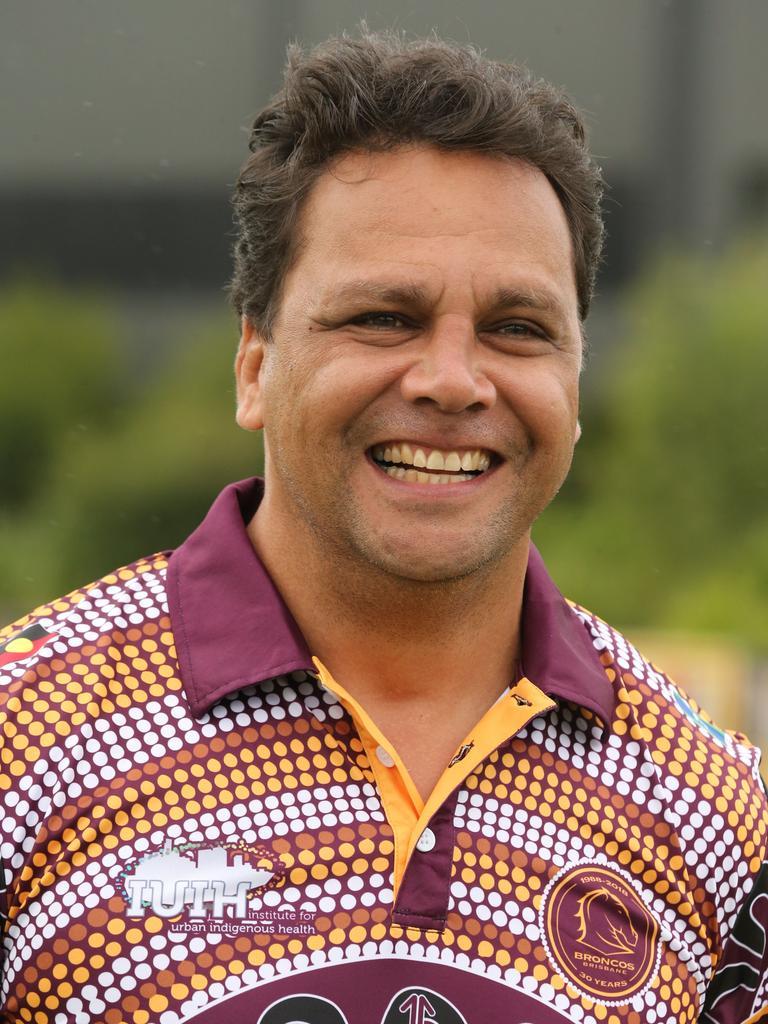 Former Brisbane Bronco Steve Renouf. (Picture File)