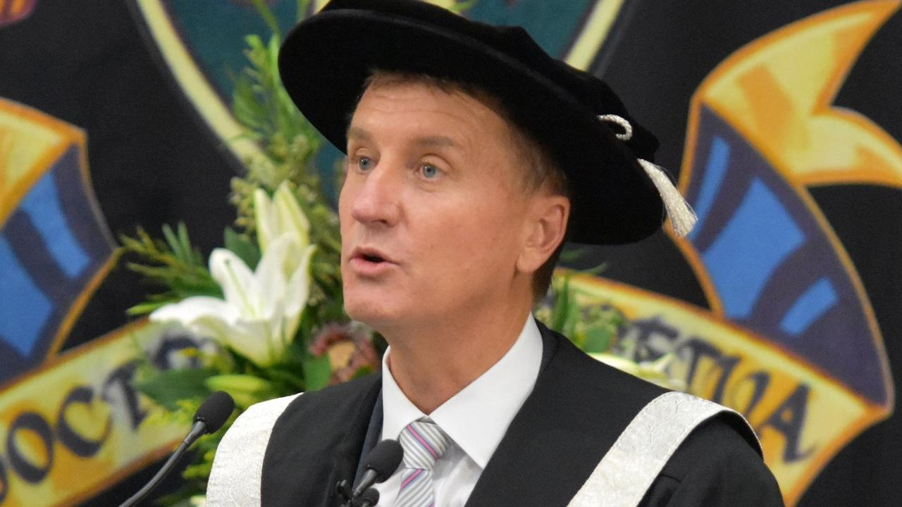 CQUni Vice-Chancellor Professor Nick Klomp.