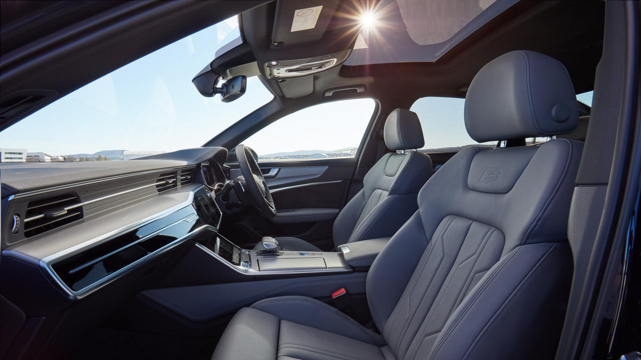 The new Audi A6 features an array of new technology.