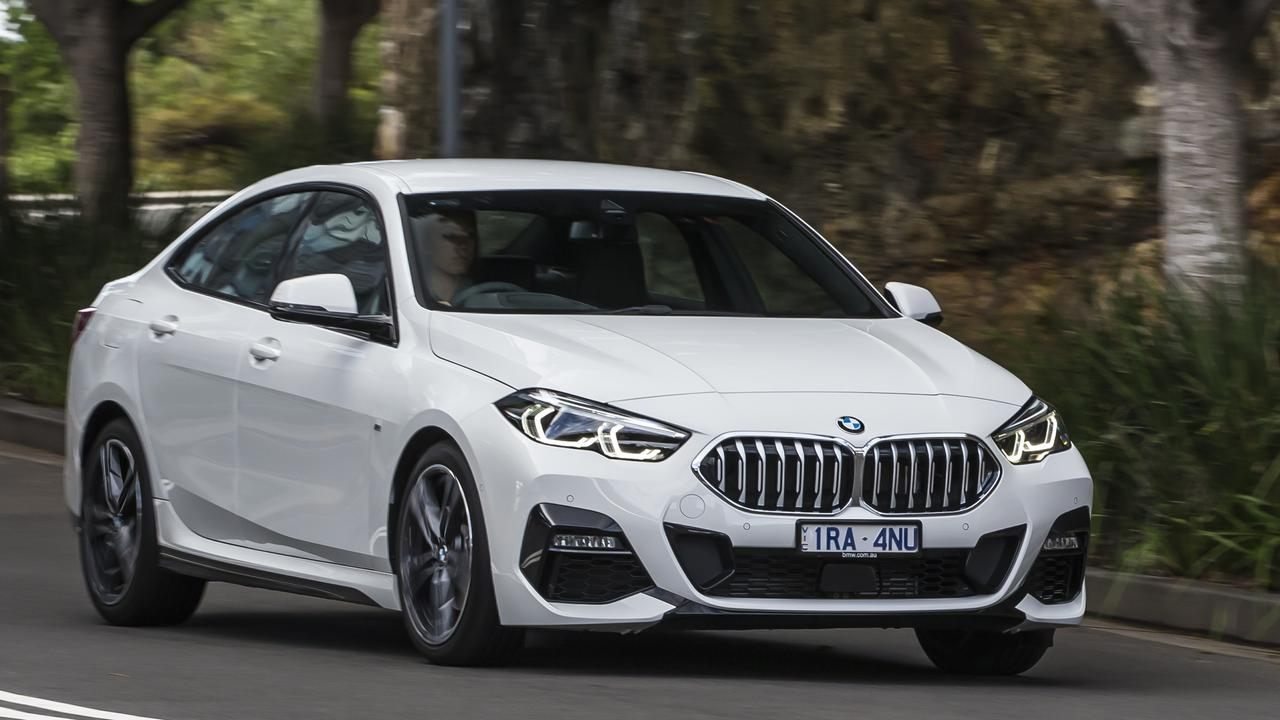 The BMW 218i Gran Coupe starts from about $52,600 drive-away.