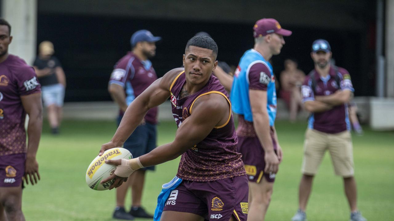 Niu made his Test debut for Tonga last year.