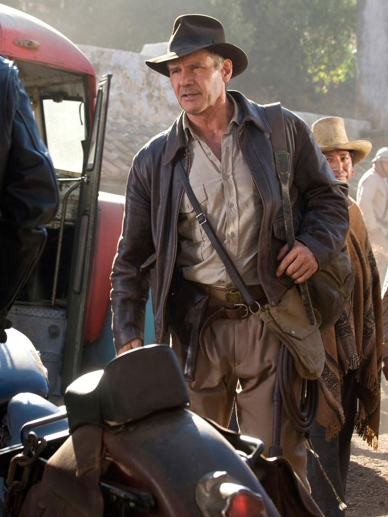 Harrison Ford in a scene from Indiana Jones and the Kingdom of the Crystal Skull. Picture: AP Photo/Paramount Pictures, David James