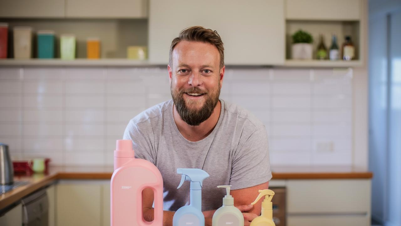 Mike Smith, founder of Zero Co, has an ambitious goal to eliminate single-use plastics in Aussie households.