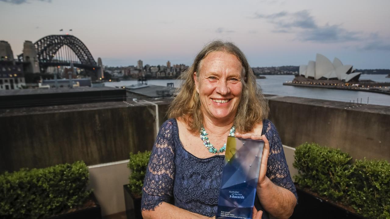 NSW Senior Australian of the Year Sue Lennox