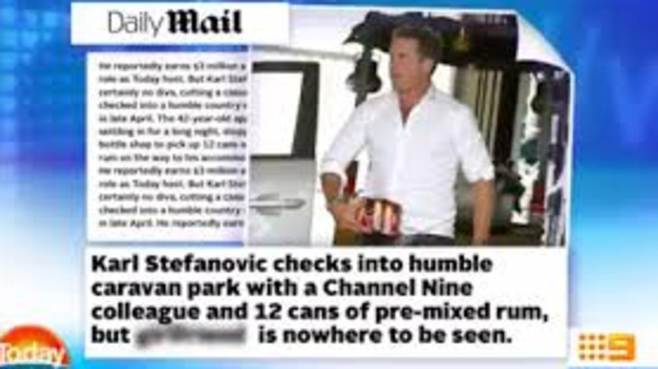 The article that sparked Stefanovic's fury.