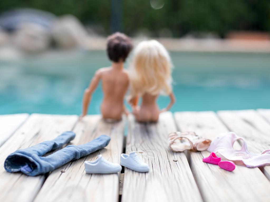 Annie Dawson's Barbie photo shoot.