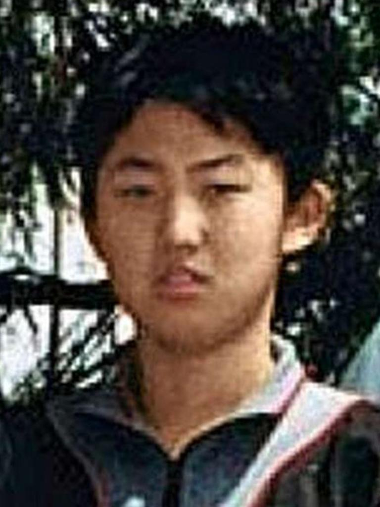 A teenage Kim Jong-un. Picture: PBS/Frontline