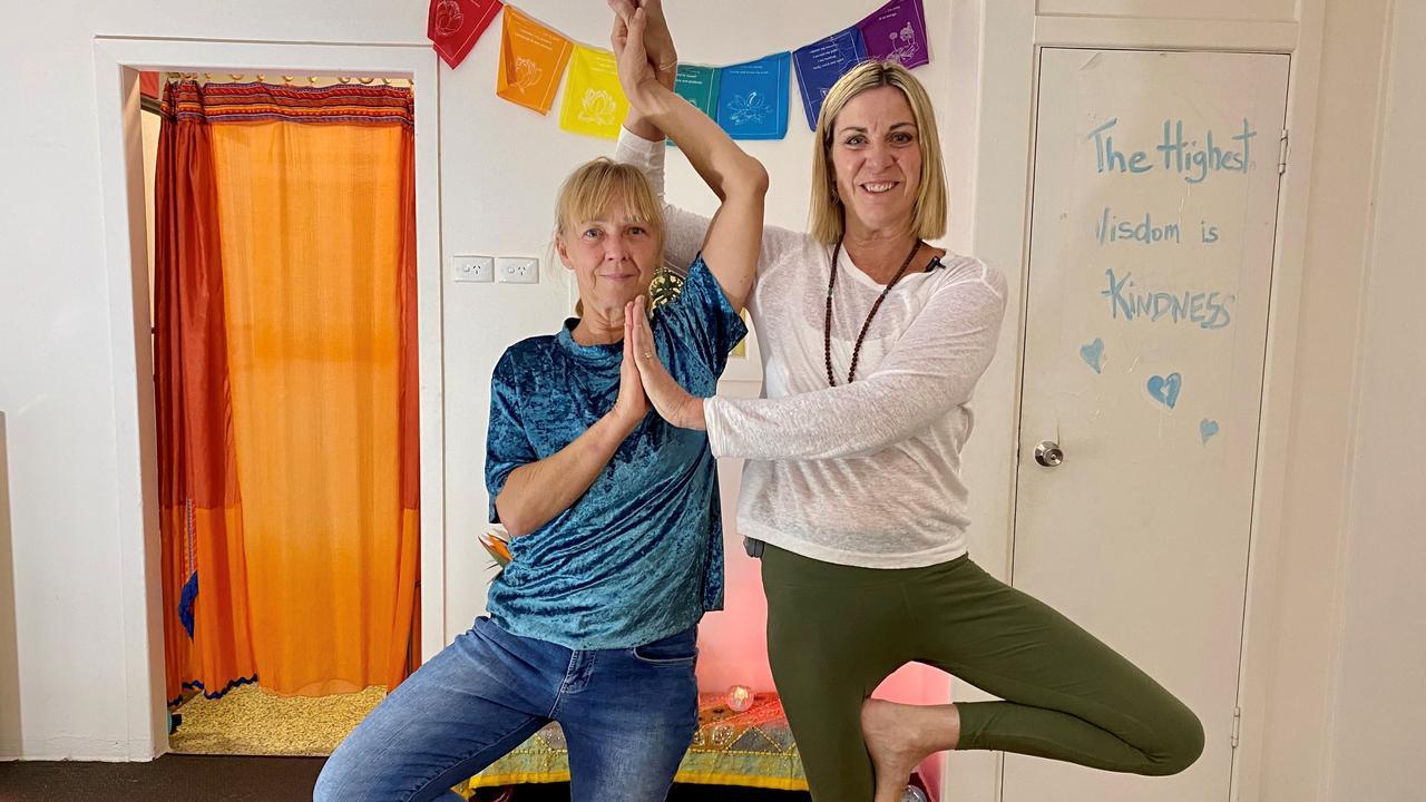 Yoga Tree Stanthorpe co-founders Maree Taylor and Majella Stevens.